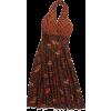 1970s print dress - sukienki -