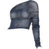 1990s Sheer Net Romeo Gigli Top - Long sleeves shirts -