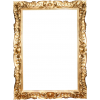 19 C Italian Carved wood Gilt frame - Okvirji -