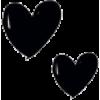 2 black hearts - Items -