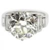 5.05Carat Deco Diamond and platinmum rin - Rings - $66.00