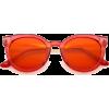 50s festival colorful pantone sunglasses - Óculos de sol -
