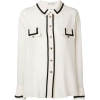 80s Karl Lagerfeld Silk Shirt - Cardigan - £250.00  ~ $328.94