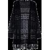 99 Jane Street Women's Black Open Front - Puloverji -