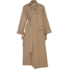 A.  AKHALKATSISHVILI neutral trench coat - Jacket - coats -