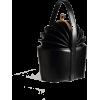 ACCORDION TOTE LEATHER HANDBAG Black - Torbice - $119.97  ~ 762,12kn