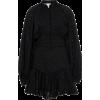 ACLER cotton black dress - Vestidos -