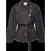 ACLER dark wash denim jacket - Jacket - coats -