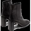 ACNE STUDIOS  Booker square-toe leather - Stivali -