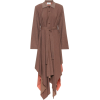 ACNE STUDIOS Checked wool-blend midi dre - ワンピース・ドレス -