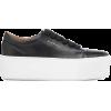 ACNE STUDIOS Drihanna platform leather s - Platformy - $430.00  ~ 369.32€