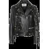 ACNE STUDIOS Embellished leather jacket - Jacket - coats -