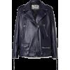 ACNE STUDIOS Oversized leather biker jac - アウター -