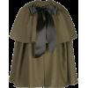 ADAM LIPPES bow cape coat - Jacket - coats -