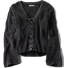 AE LACE-UP FRONT PULLOVER SWEATER - Pullovers -