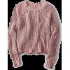 AE SCALLOP HEM RAGLAN PULLOVER - Pullovers -