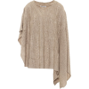 AGNONA Cashmere and linen poncho - Cardigan -
