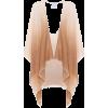 AGNONA Cashmere-blend poncho $ 1,623 - Swetry na guziki -