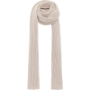 AGNONA Oversized ribbed cashmere scarf - Scarf -