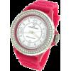AK Anne Klein Pink Silicone Strap Ladies Watch #109439MPMA - Satovi - $82.00  ~ 520,91kn