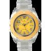 AK Anne Klein Transparent Bracelet Yellow Dial Women's watch #10/9641YLCL - Часы - $41.50  ~ 35.64€