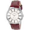 AK Anne Klein Women's 10/9779IVBE Silver-Tone Berry Colored Leather Strap Watch - Ure - $65.00  ~ 55.83€