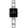 AK Anne Klein Women's 104899BKSB Silver-Tone Black Dial Dress Watch - Watches - $41.12