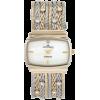 AK Anne Klein Women's 109271MPTT Swarovski Crystal Accented Two-Tone Multi-Chain Bracelet Watch - Watches - $67.02