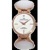 AK Anne Klein Women's 109454RGWT Rosegold-Tone  White Pearlized Link Bracelet Watch - Satovi - $62.50  ~ 397,04kn