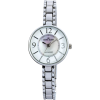 AK Anne Klein Women's 109619MPSV Silver-Tone Mother-Of-Pearl Dial Dress Bracelet Watch - Watches - $41.49