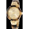 AK Anne Klein Women's 109652CHTO Gold-Tone Tortoise Plastic Bezel and Bangle Bracelet Watch - Orologi - $47.28  ~ 40.61€