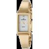 AK Anne Klein Women's 109728MPGB Diamond Accented Gold-Tone Bangle Bracelet Watch - Relojes - $54.54  ~ 46.84€