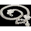 AK Anne Klein Women's Box Link Chain Belt Silver - Belt - $48.00
