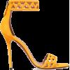 ALAÏA  110 laser-cut suede sandals £558 - Sandals -