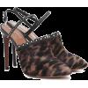 ALAÏA Calf hair slingback pumps - Klasyczne buty -