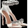 ALAÏA Embellished leather sandals - Sandals -