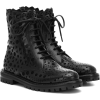 ALAÏA Leather ankle boots - Boots -