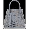 ALAÏA Mini laser-cut leather tote - Carteras -