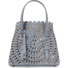 ALAÏA Mini laser-cut leather tote - Torbice -