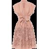 ALAÏA Wool chiffon minidress - Vestidos -