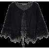 ALBERTA FERRETTI Crocheted cotton shrug - Chaquetas -