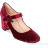 ALBERTO ZAGO velvet mary jane shoe - Classic shoes & Pumps -