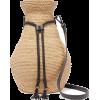 ALBUS LUMEN Figura leather-trimmed raffi - Messenger bags -