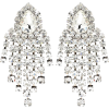 ALESSANDRA RICH Crystal clip-on earrings - イヤリング -