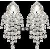 ALESSANDRA RICH Crystal clip-on earrings - Earrings -