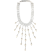 ALESSANDRA RICH Crystal-embellished neck - Necklaces -