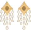 ALESSANDRA RICH Embellished clip-on earr - Collane -