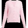 ALESSANDRA RICH  Faux pearl-button cotto - Cardigan -