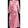 ALESSANDRA RICH pink satin dress - Vestiti -