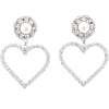 ALESSANDRA RICH silver & crystal earring - Orecchine -